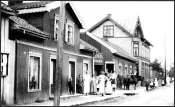 Det utvidede Thoen-hjørnet ble kalt Gulskogens hovedstad.
